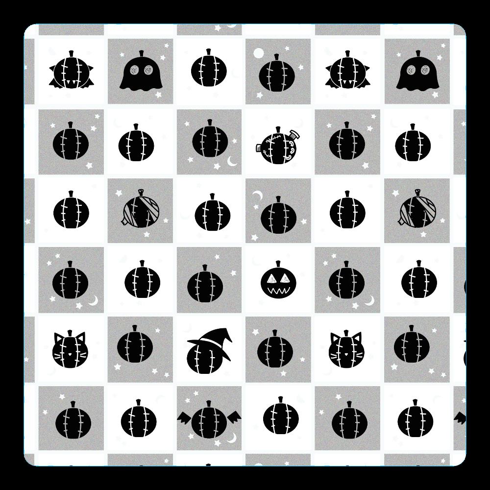 ハロウィン・モノクロ アクリルコースター(四角) アクリルコースター(四角)