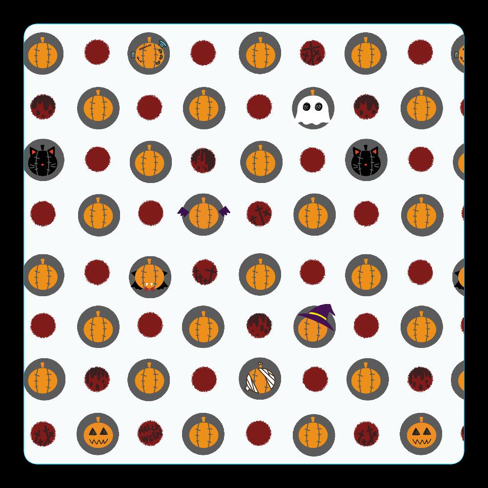 ハロウィン アクリルコースター(四角) アクリルコースター(四角)