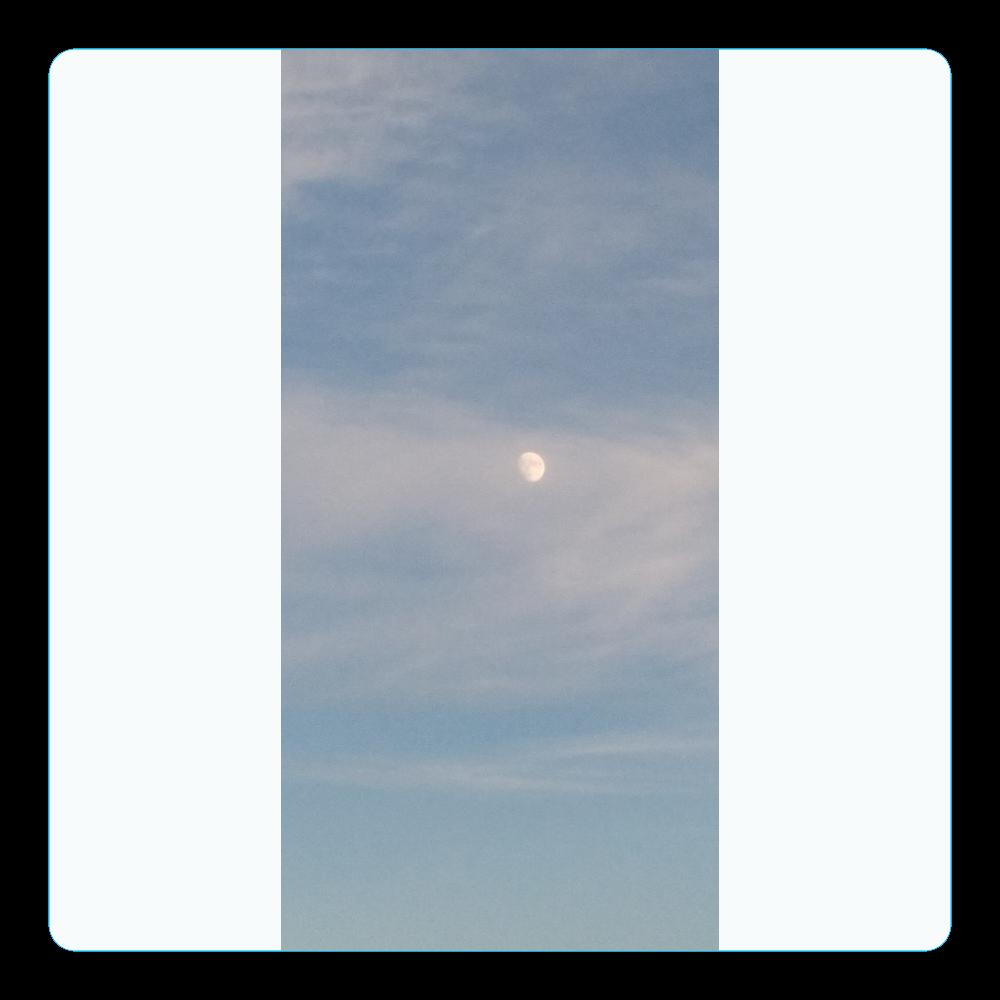 月 アクリルコースター(四角)