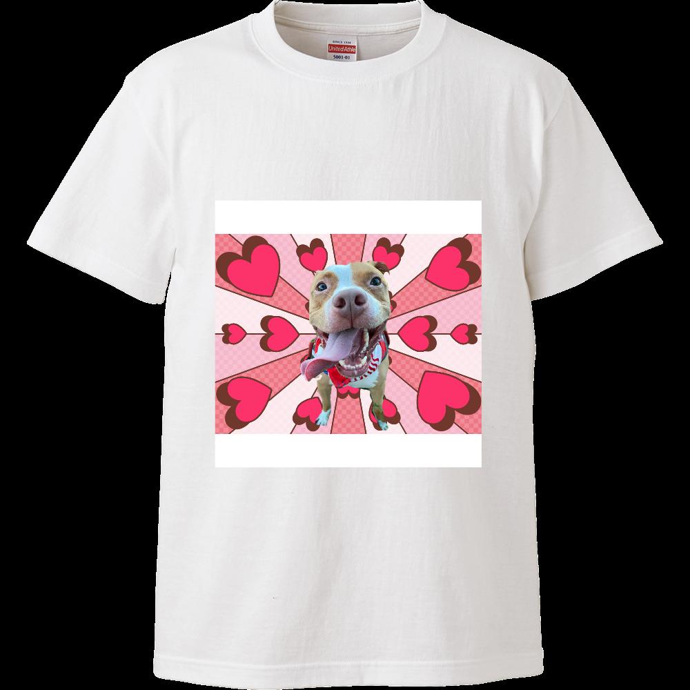 らぶり〜ピットブル♡ ハイクオリティーTシャツ
