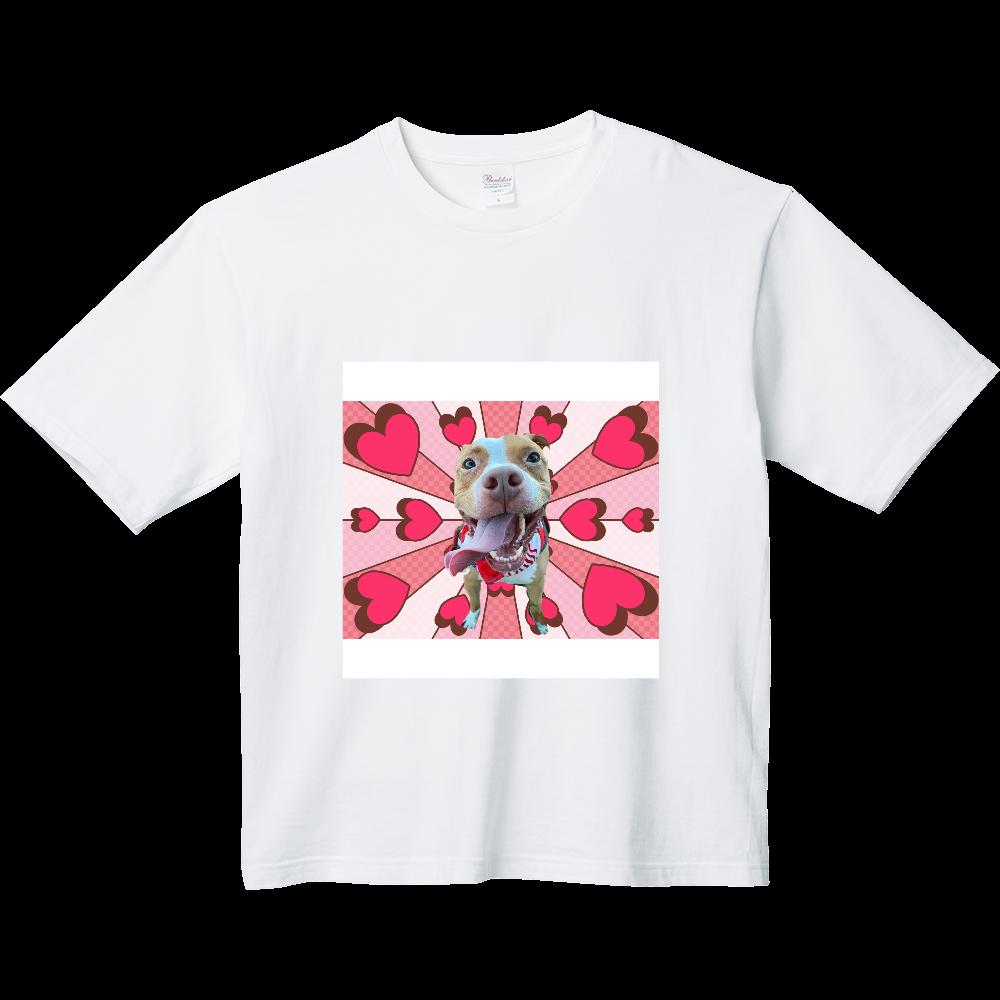 らぶり〜ピットブル♡ ヘビーウェイト ビッグシルエットTシャツ
