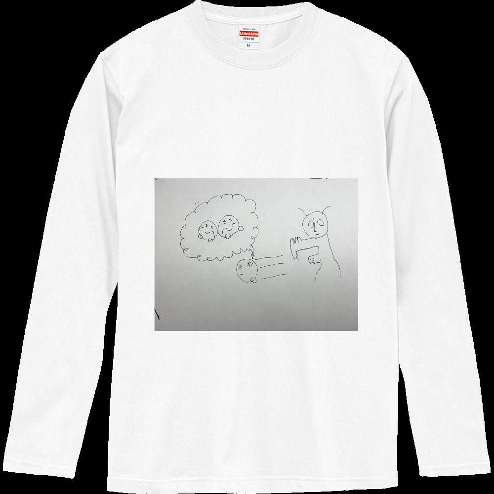 カタキじゃー! ロングスリーブTシャツ
