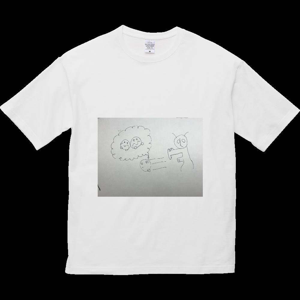 カタキじゃー! 5.6オンス ビッグシルエット Tシャツ