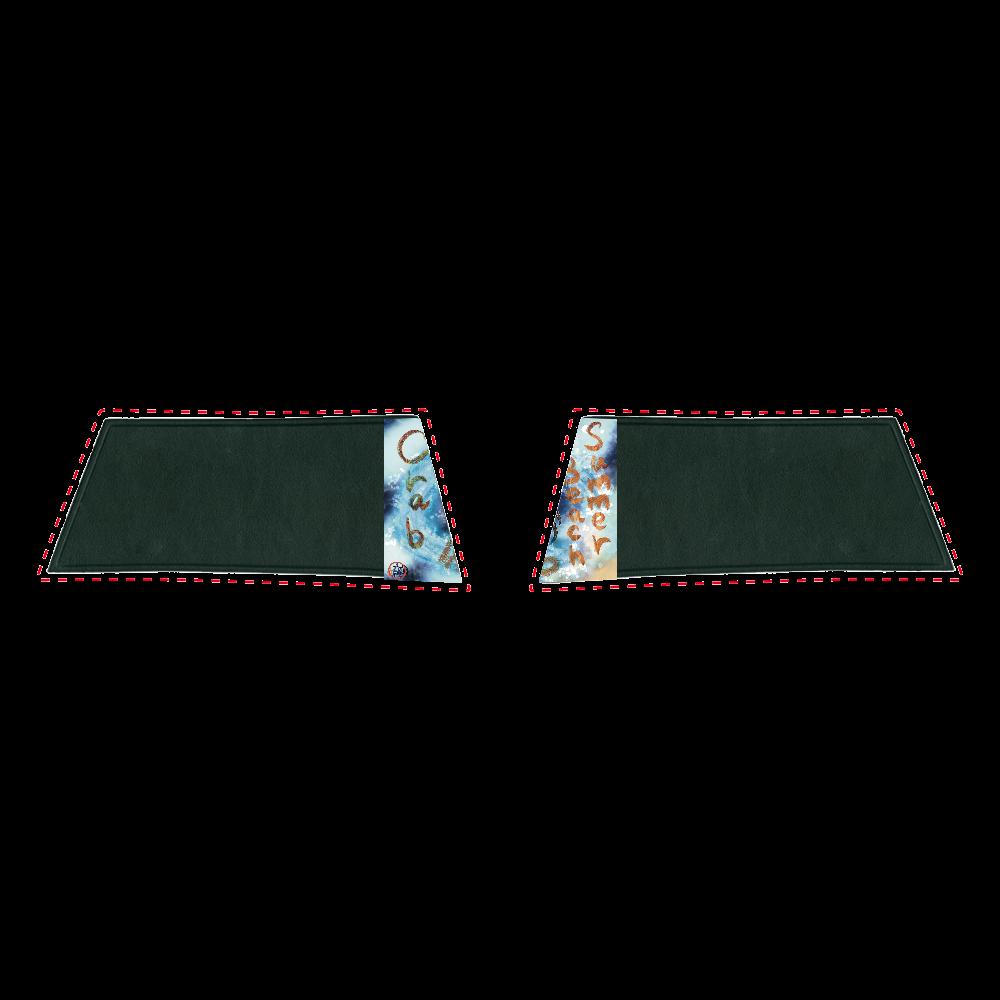 夏のビーチ「カニ」 ORILAB MARKET.Version.11 シャワーサンダル (25~26cm)