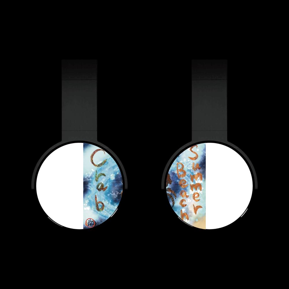 夏のビーチ「カニ」 ORILAB MARKET.Version.11 Bluetoothヘッドフォン