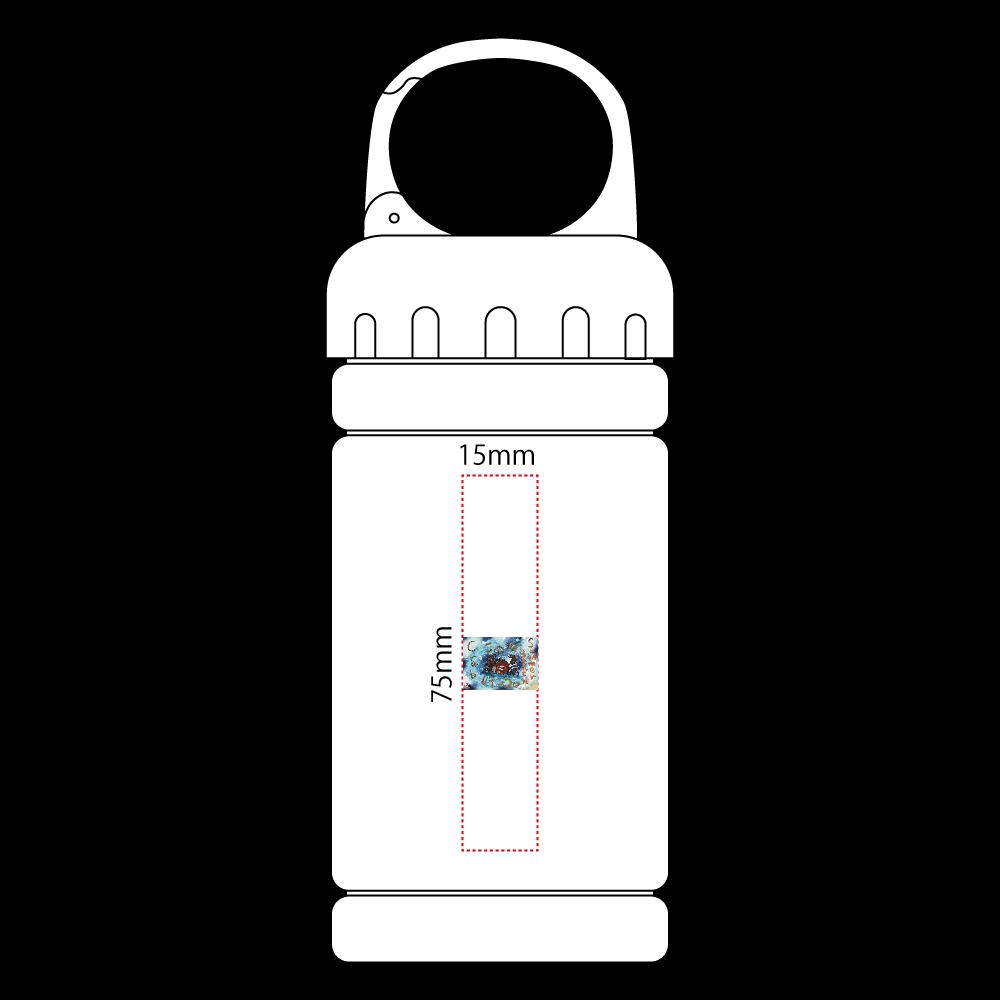 夏のビーチ「カニ」 ORILAB MARKET.Version.11 涼感マフラータオル(ボトルケース付)