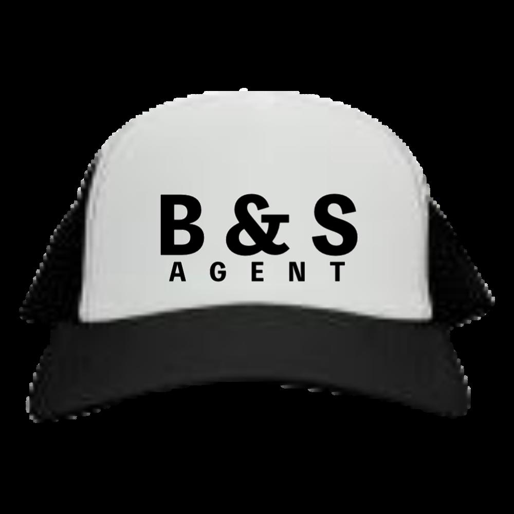 B&S AGENT メッシュキャップ メッシュキャップ