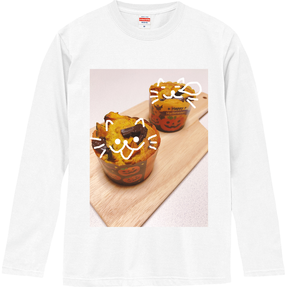はろうぃんまふぃん ロングスリーブTシャツ