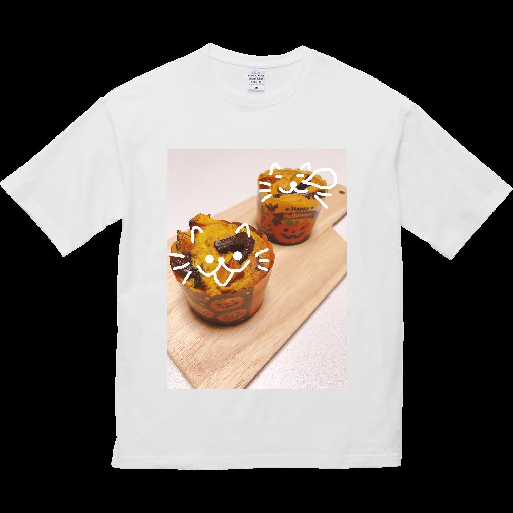 はろうぃんまふぃん 5.6オンス ビッグシルエット Tシャツ