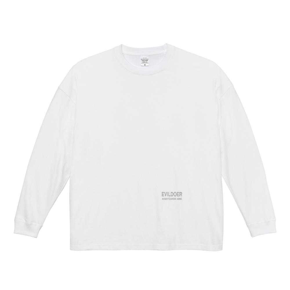 EVILDOER T-shirt ビッグシルエットロングスリーブTシャツ