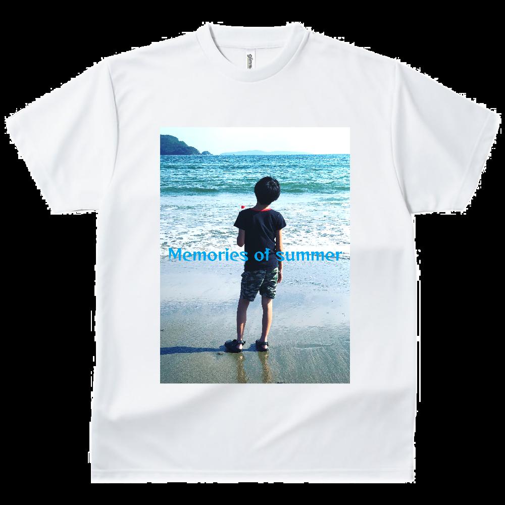 Memories of summer ドライTシャツ