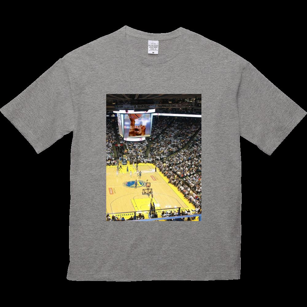 バスケットボールスーパースター 5.6オンス ビッグシルエット Tシャツ