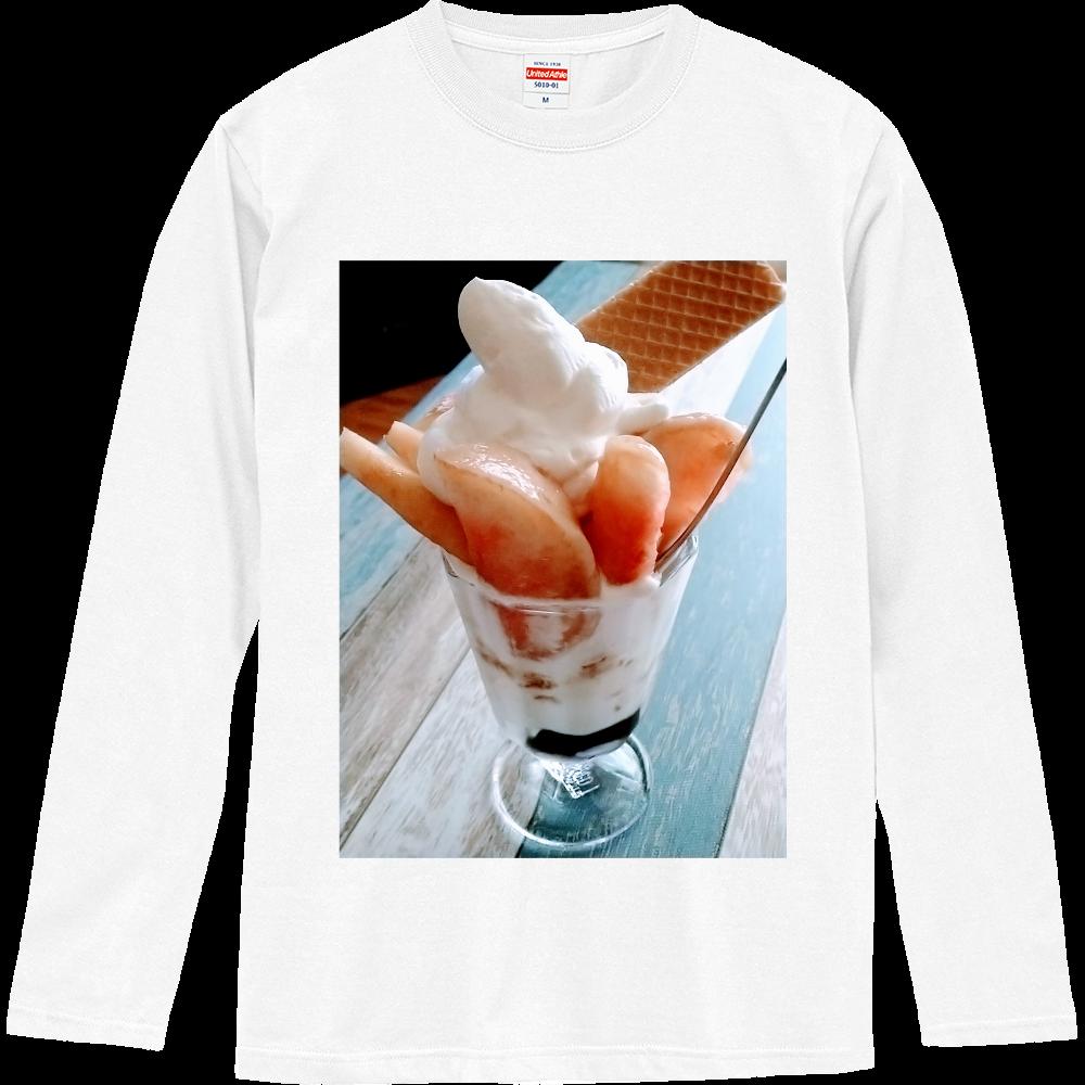 ももダイスキ ロングスリーブTシャツ
