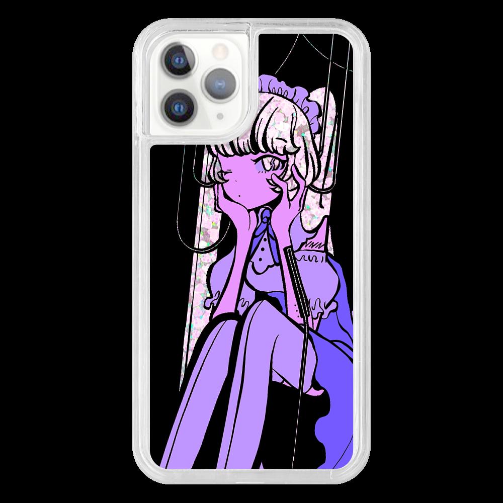 キラキラガールスマホケース iPhone11 Pro トキメキハートケース
