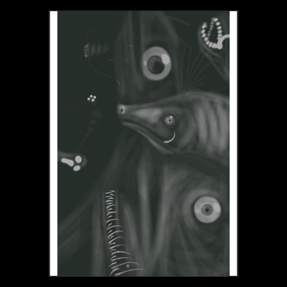 暗闇から息づかい ポスター A2サイズ