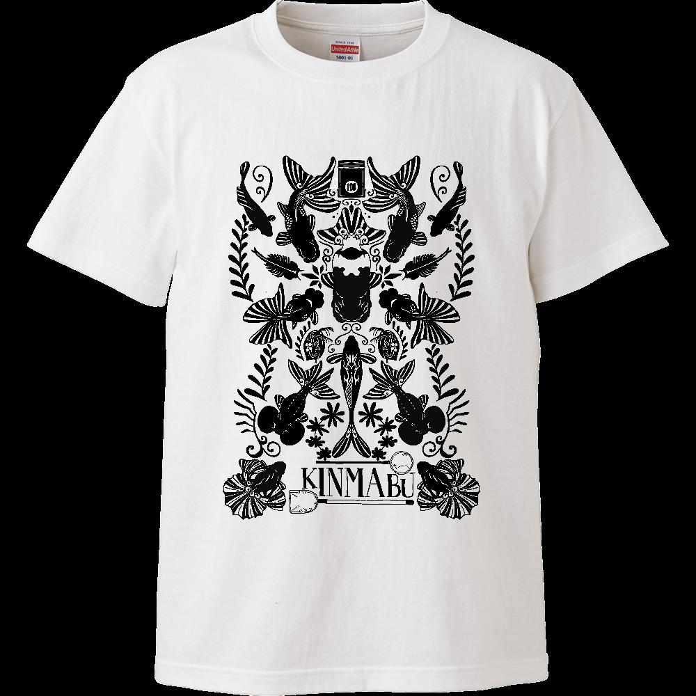 キンギョノマブタ ハイクオリティーTシャツ