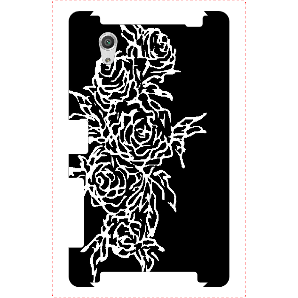 追憶の中で咲く Xperia X Parfomance(SO-04H)