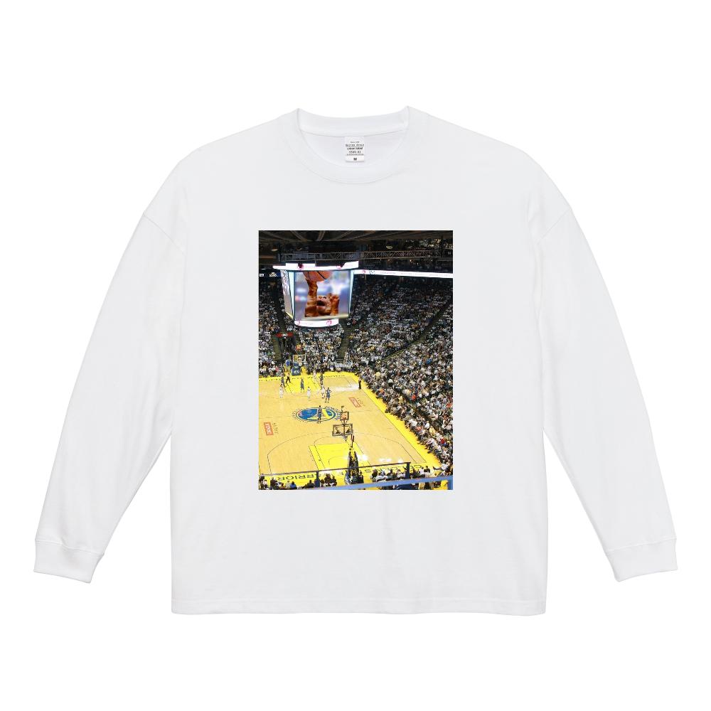 バスケットボールスーパースター ビッグシルエットロングスリーブTシャツ
