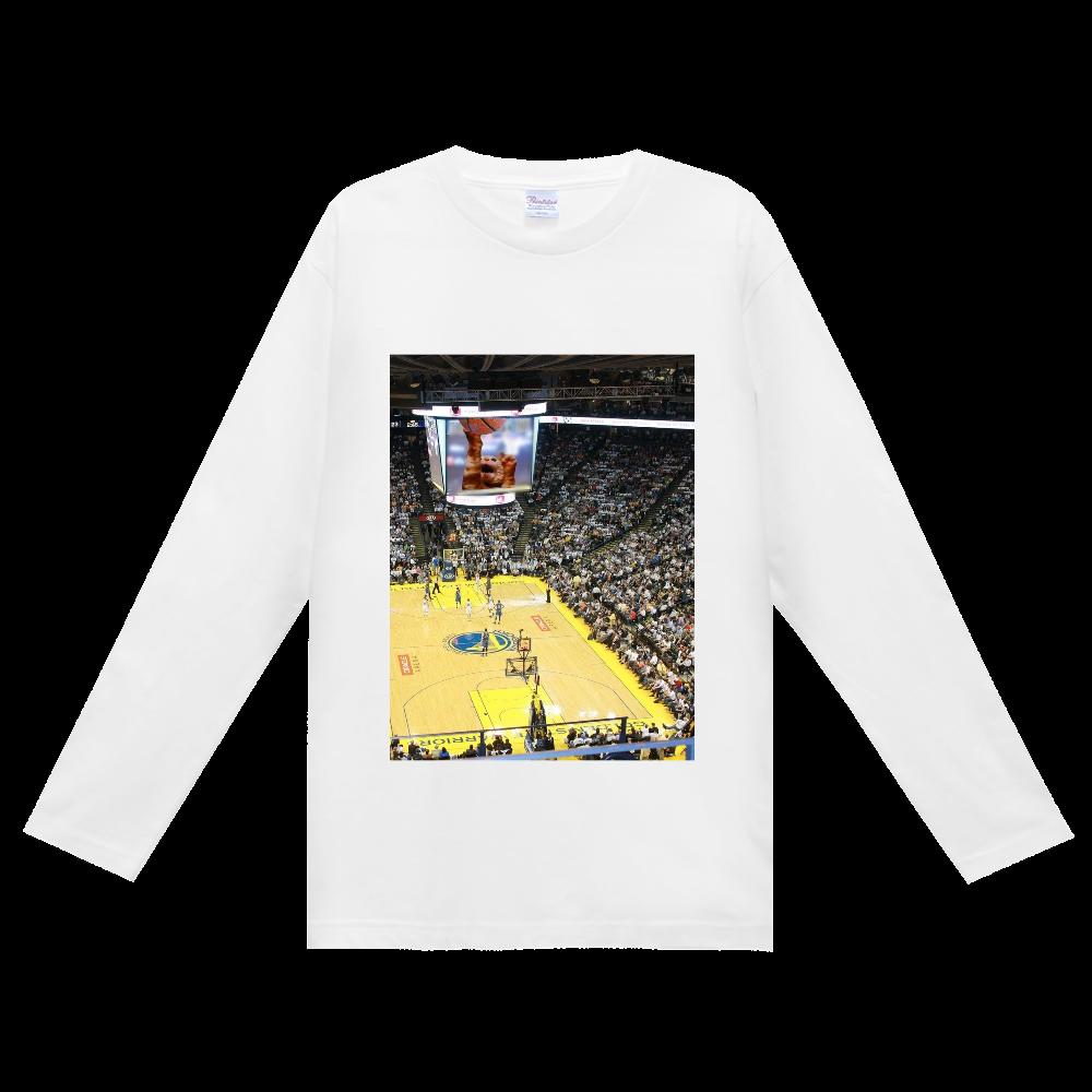 バスケットボールスーパースター ヘビーウェイト長袖Tシャツ