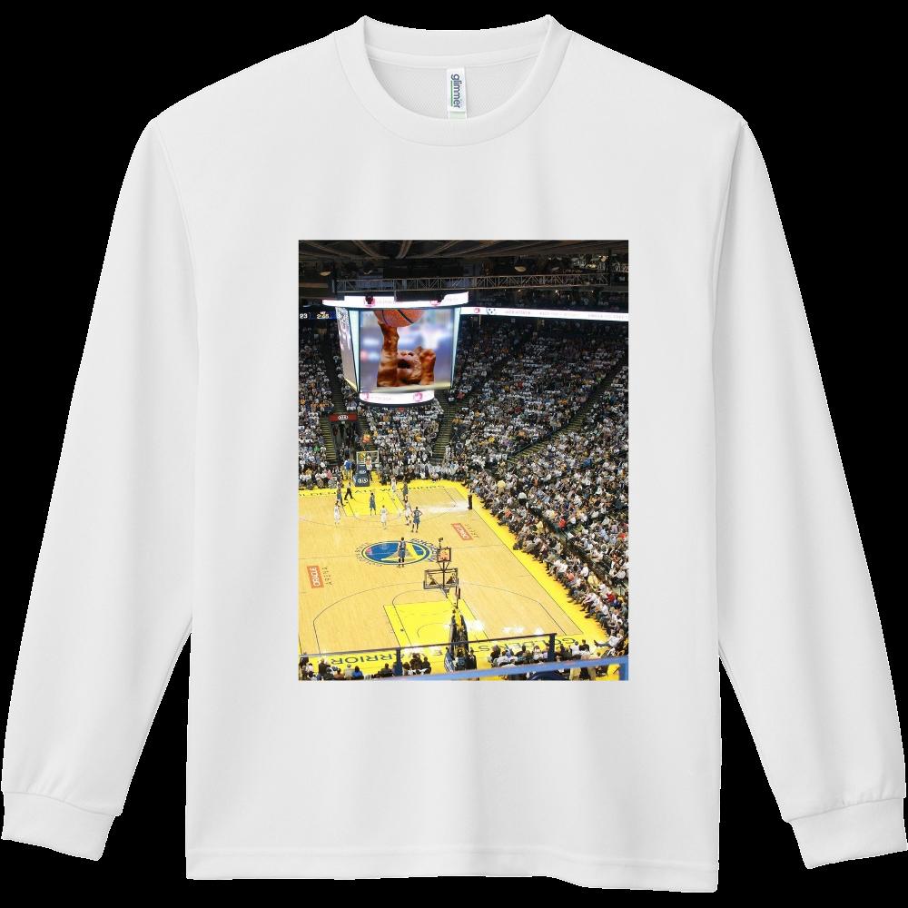 バスケットボールスーパースター ドライ長袖Tシャツ