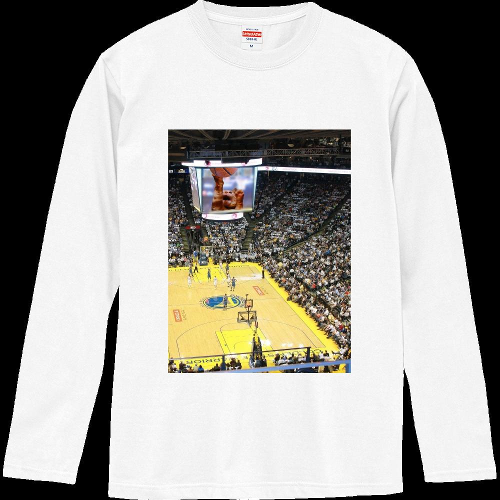 バスケットボールスーパースター ロングスリーブTシャツ