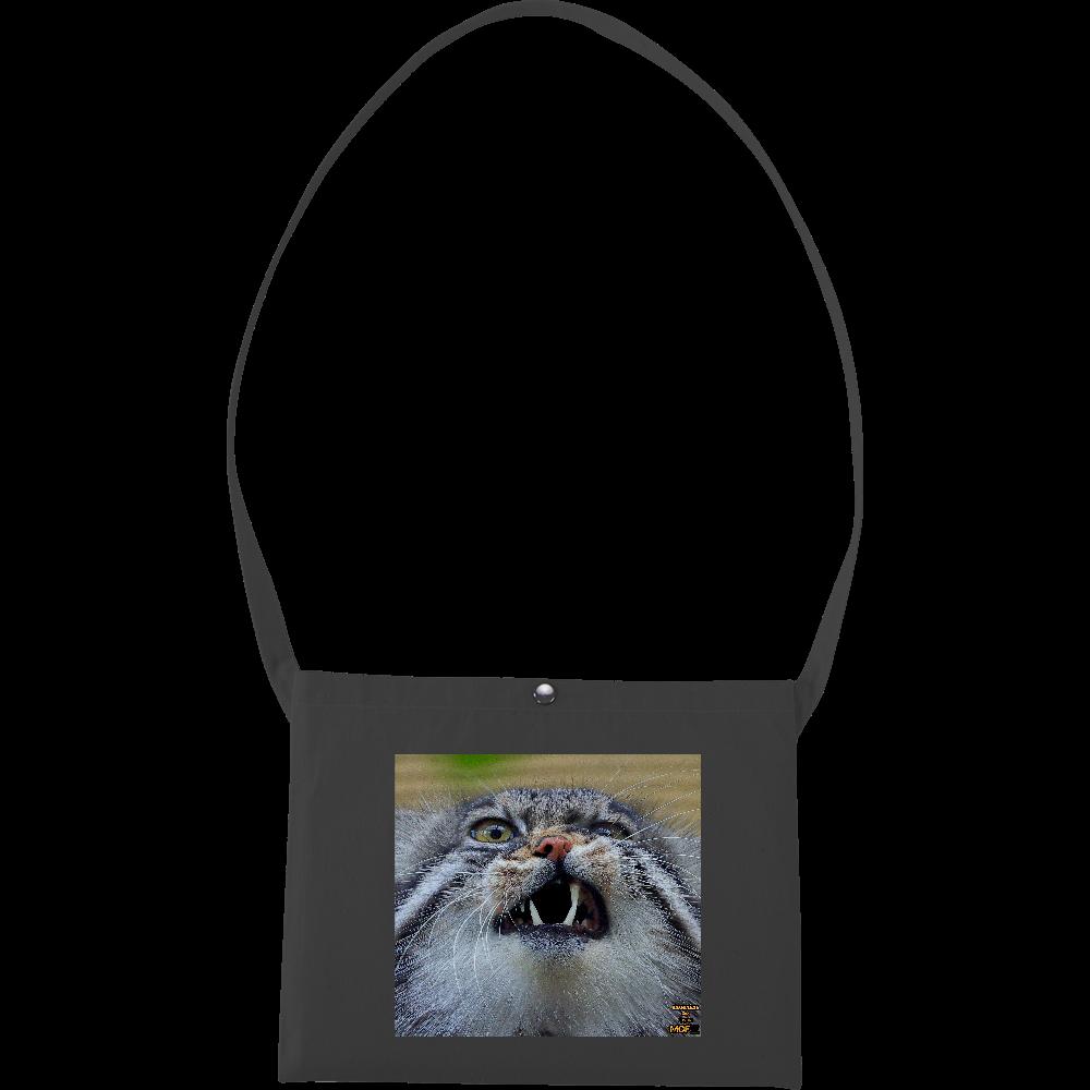 マヌルネコ「グルーシャ」(旭山動物園)  キャンバスサコッシュ キャンバスサコッシュ