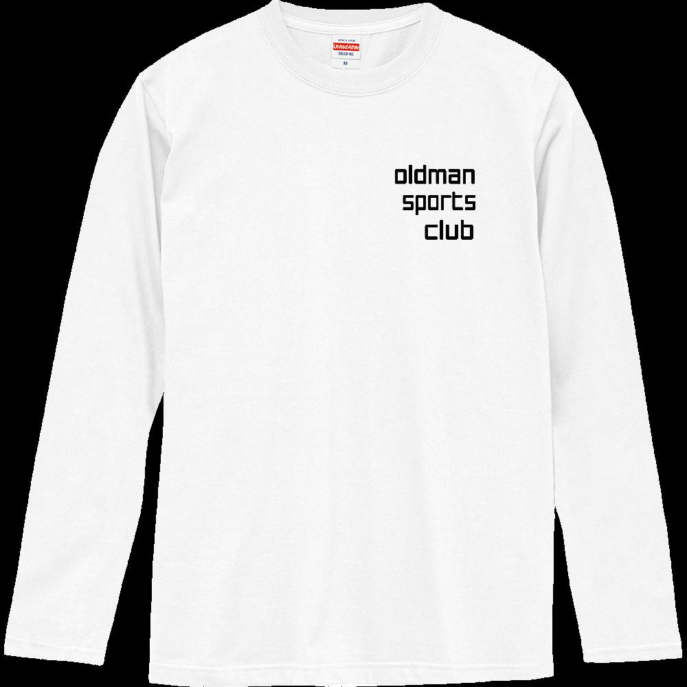 oldman sports club ロングスリーブTシャツ
