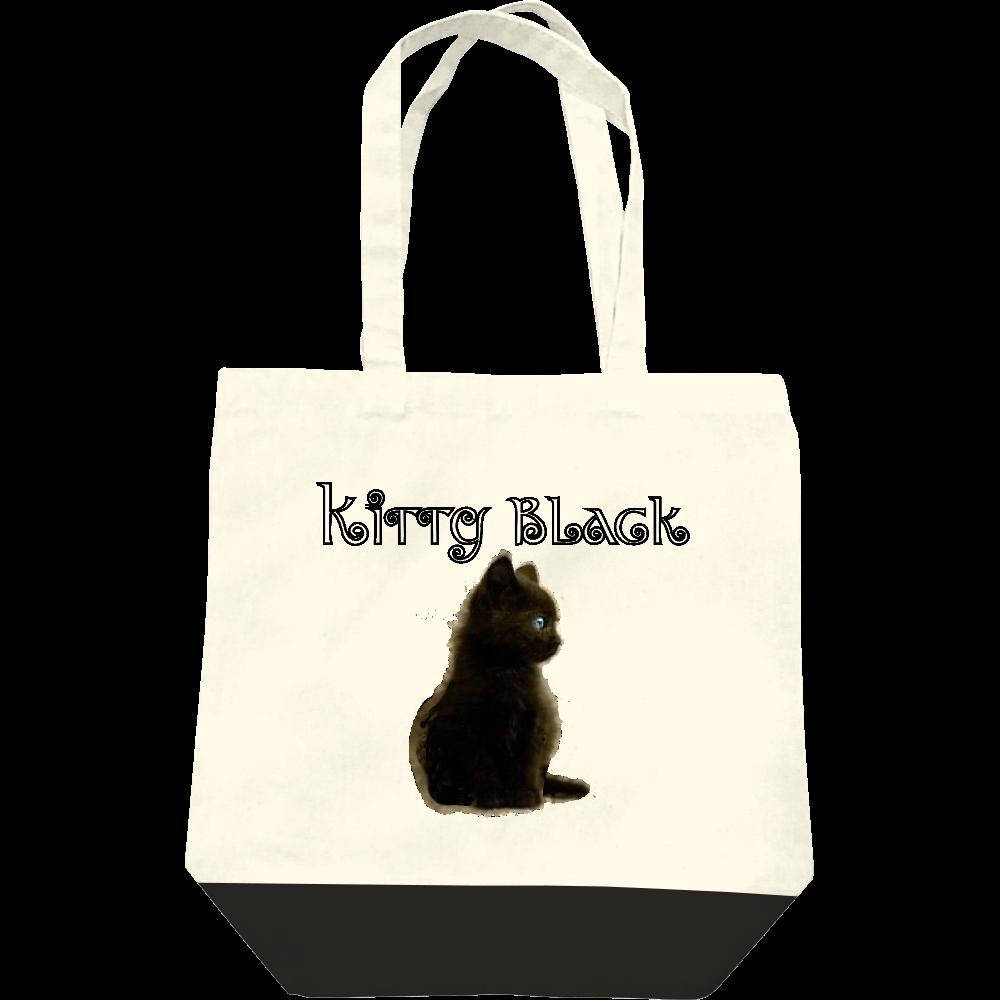 Kitty Black レギュラーキャンバストートバッグ(M)