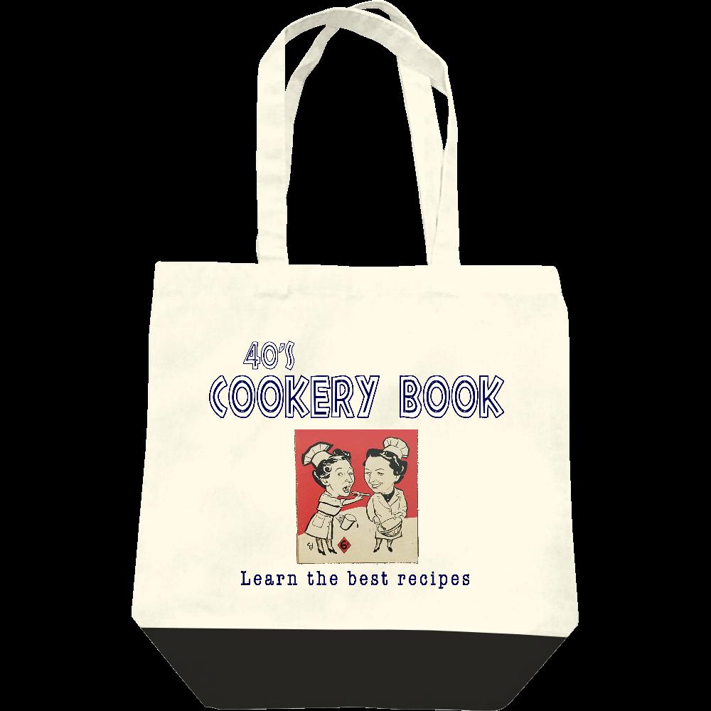 40's Cookery Book レギュラーキャンバストートバッグ(M)