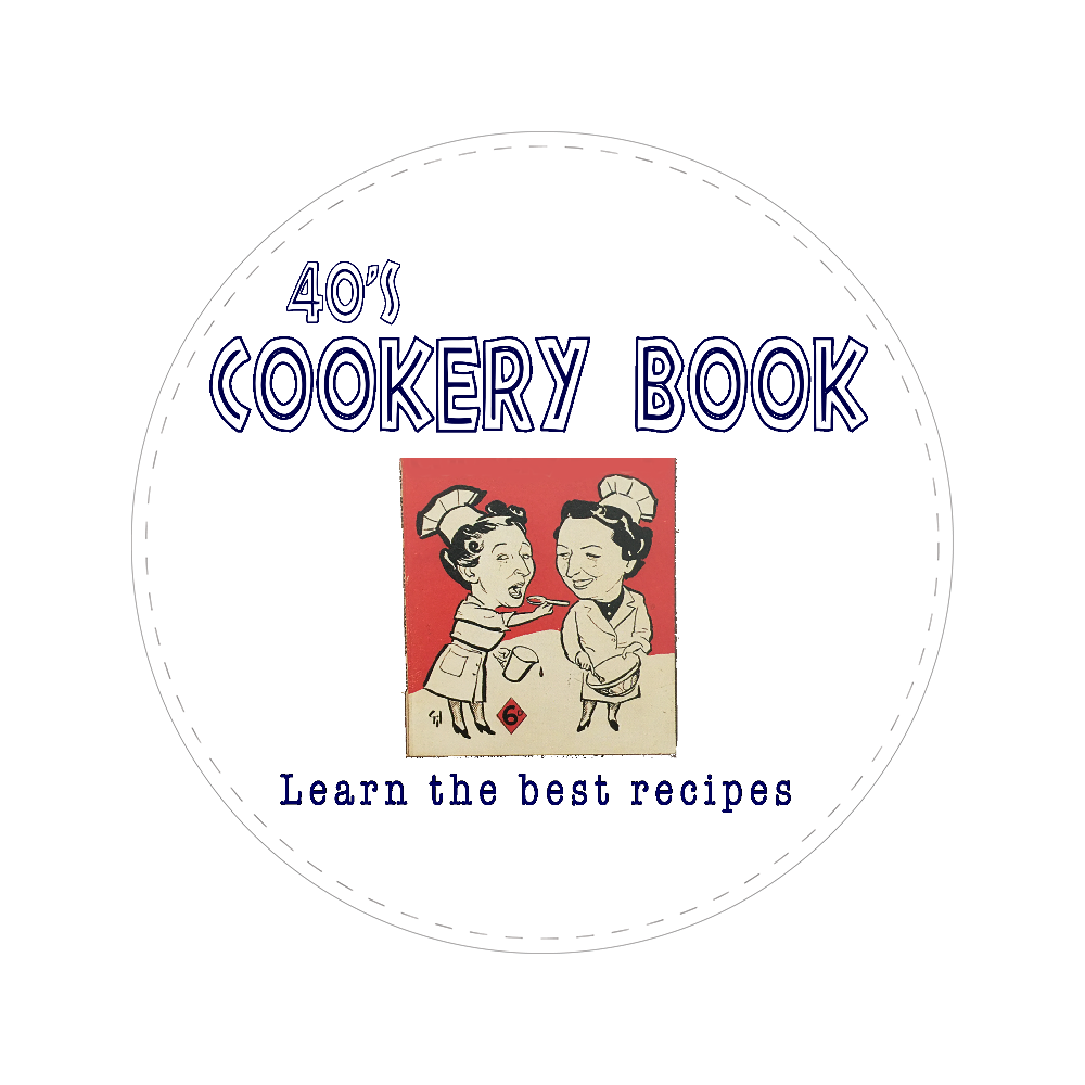 40's Cookery Book 56㎜缶バッジ
