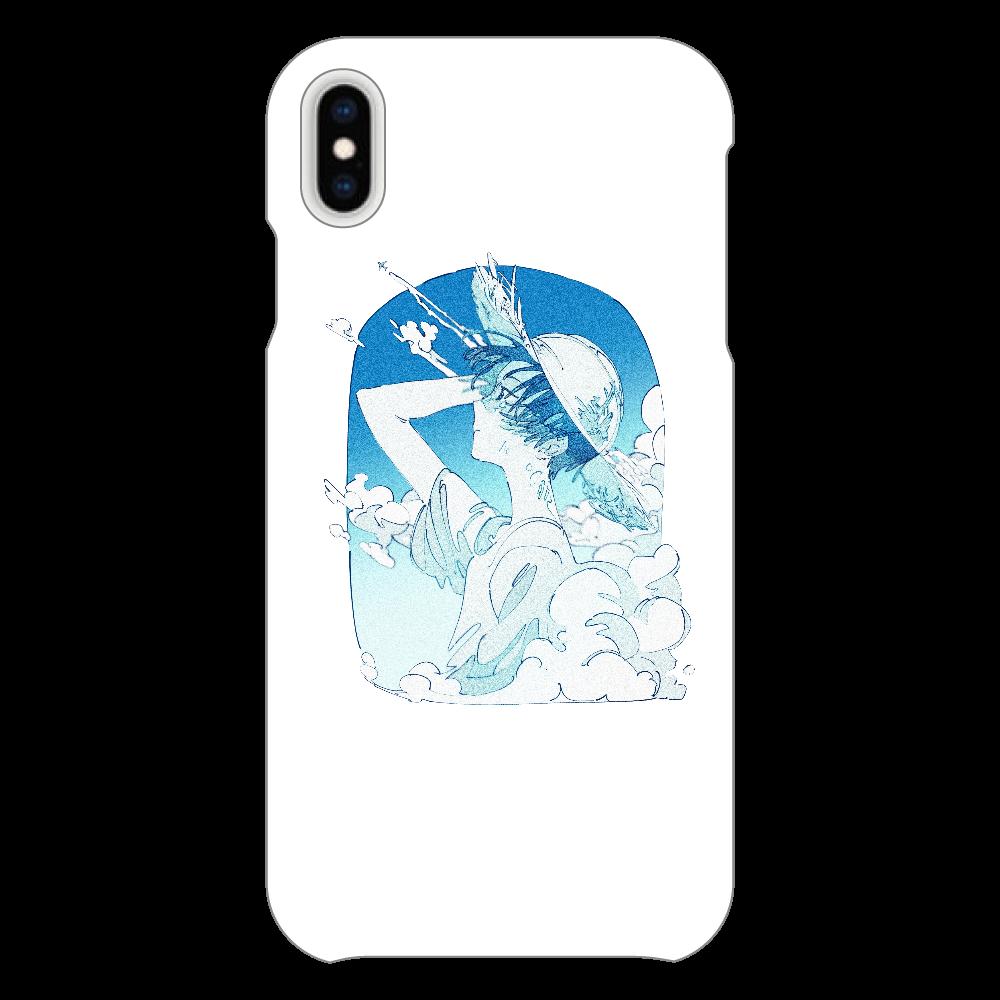 夏の風 スマホケース iPhoneXsMAX(透明)