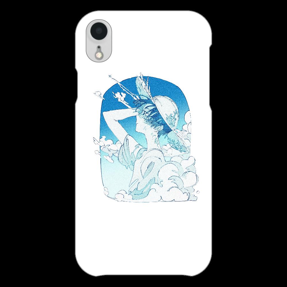 夏の風 スマホケース iPhoneXR(透明)
