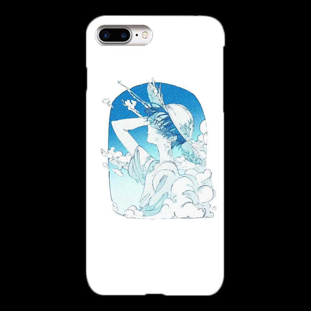 夏の風 スマホケース iPhone7Plus(透明)