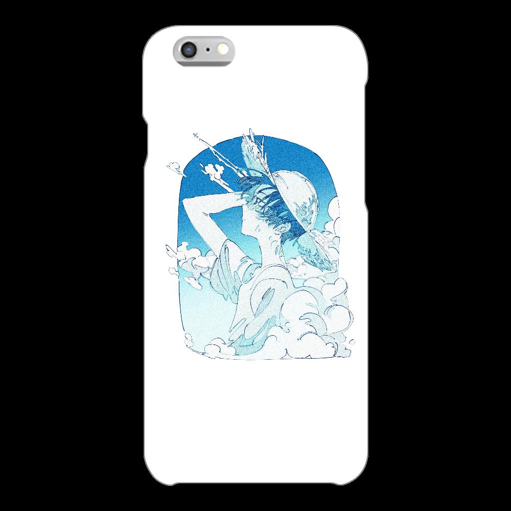 夏の風 スマホケース iPhone6/6s(透明)