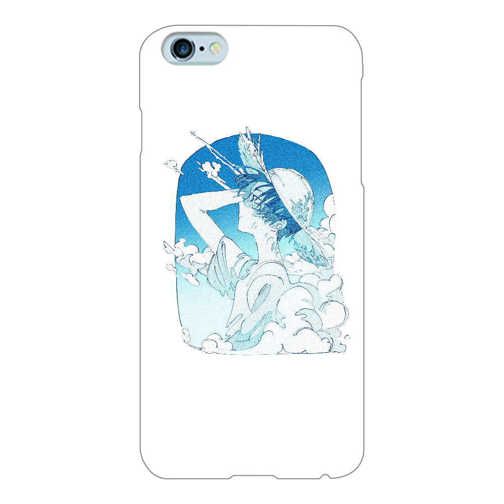 夏の風 スマホケース iPhone6Plus/6sPlus(透明)