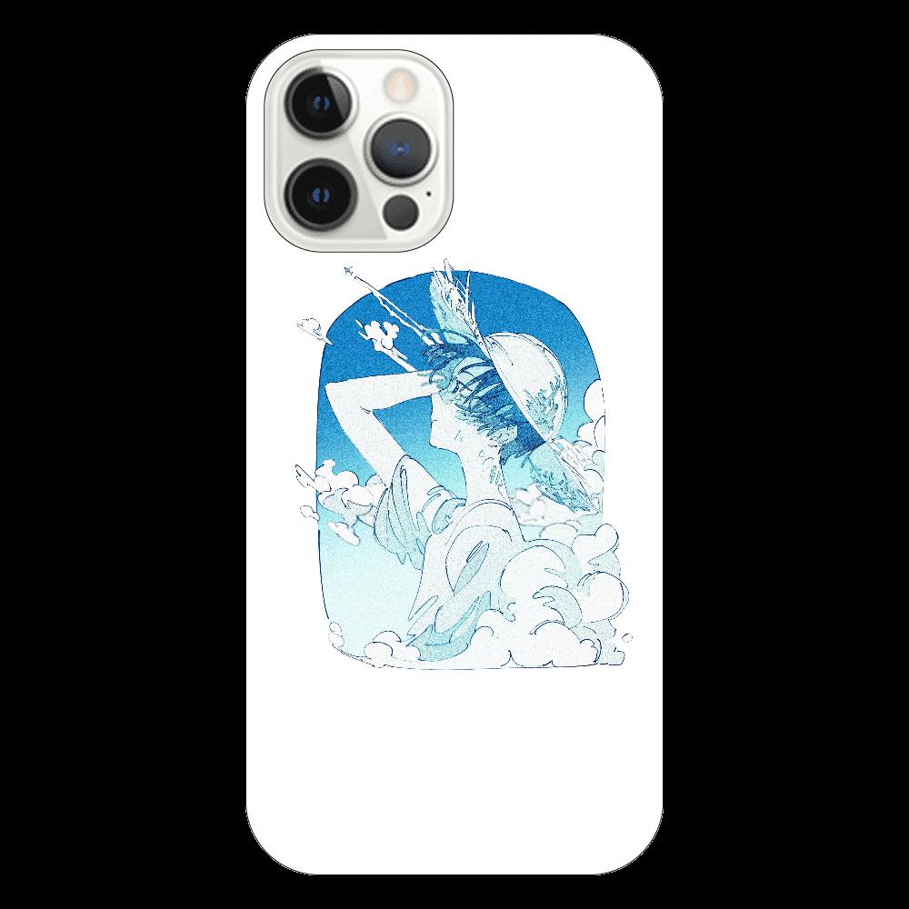 夏の風 スマホケース iPhone12 Pro(透明)