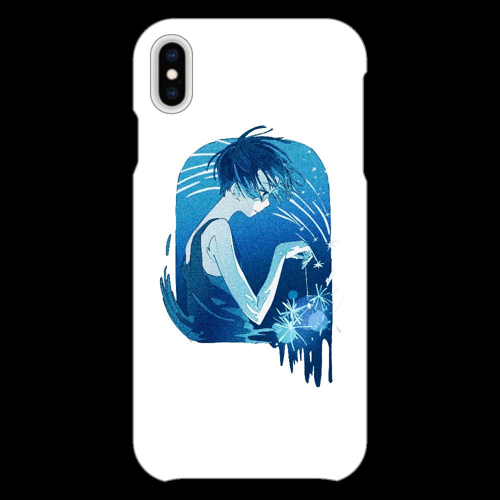 夏の星 スマホケース iPhoneXsMAX(透明)