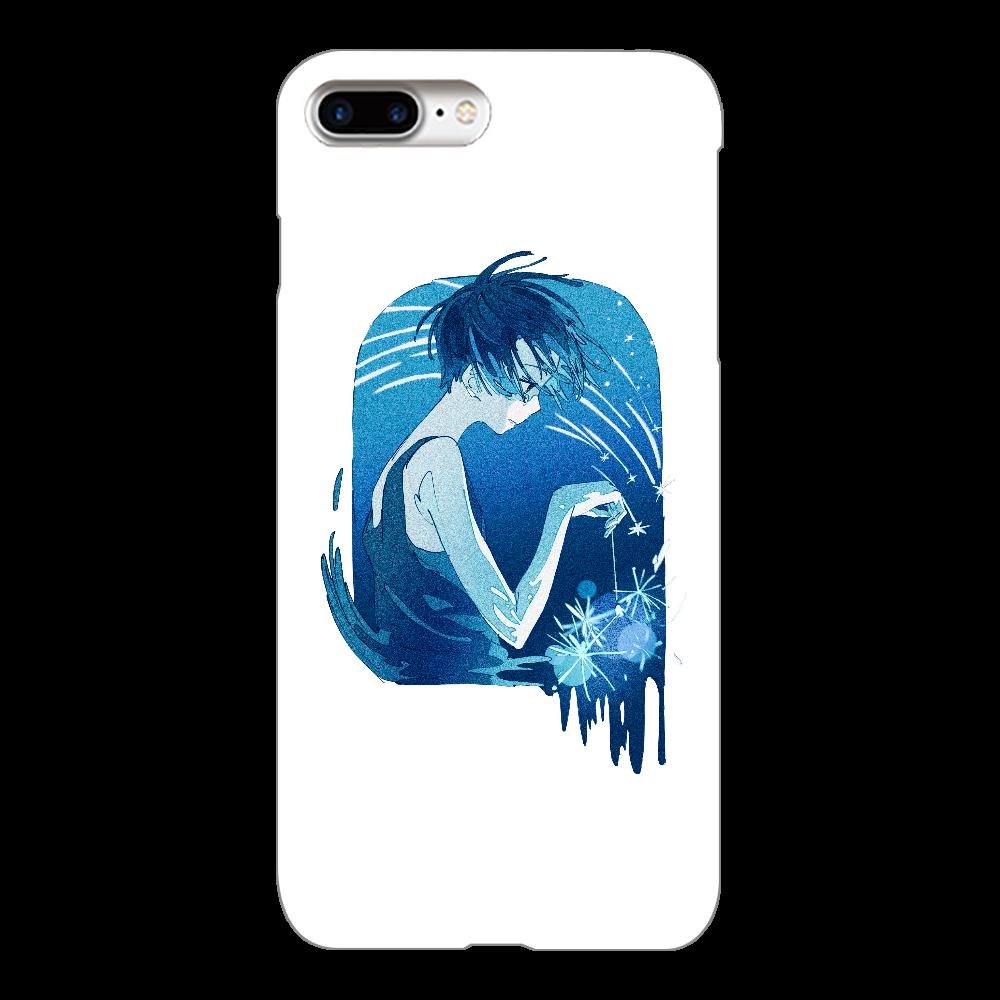 夏の星 スマホケース iPhone8Plus(透明)