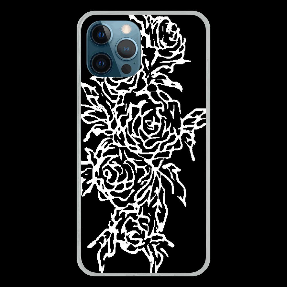 追憶の中で咲く iPhone12 Pro Max ソフトケース (TPU)