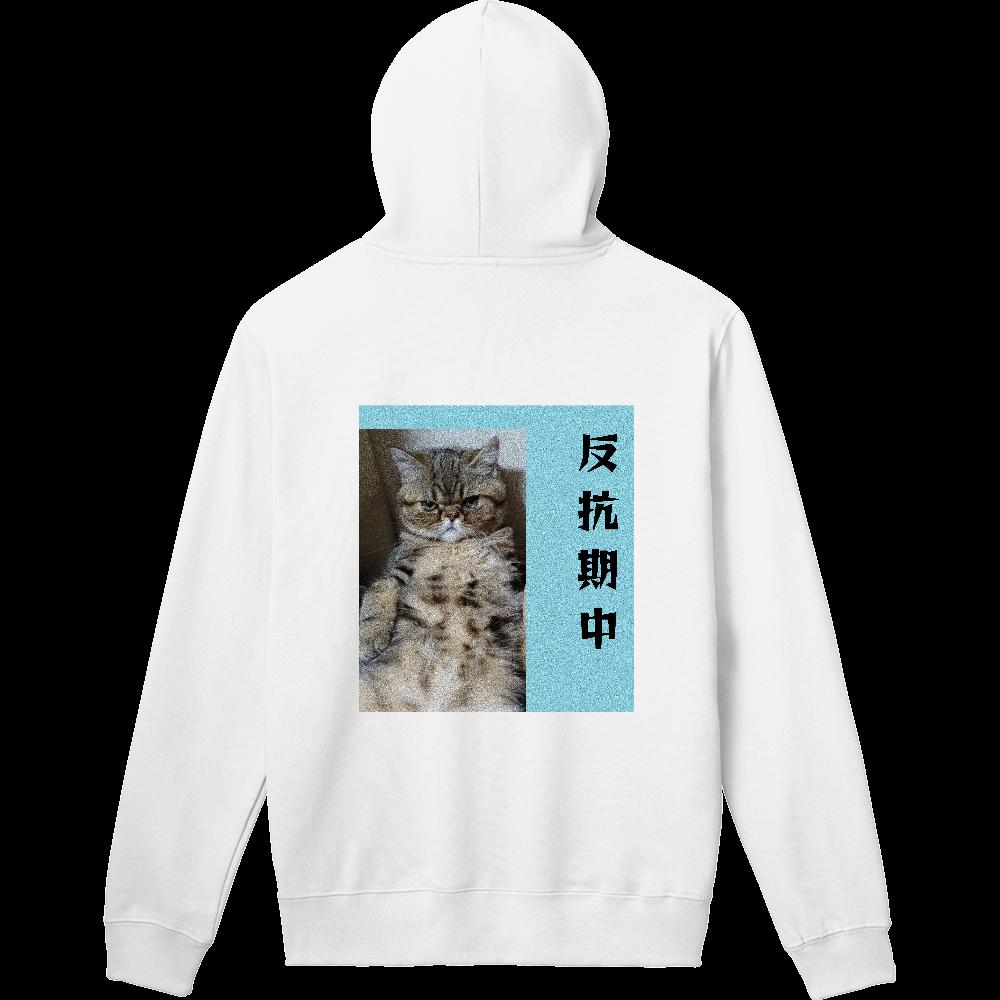 ユーモアたっぷりTシャツ 軽量プルパーカー (長袖プリント)