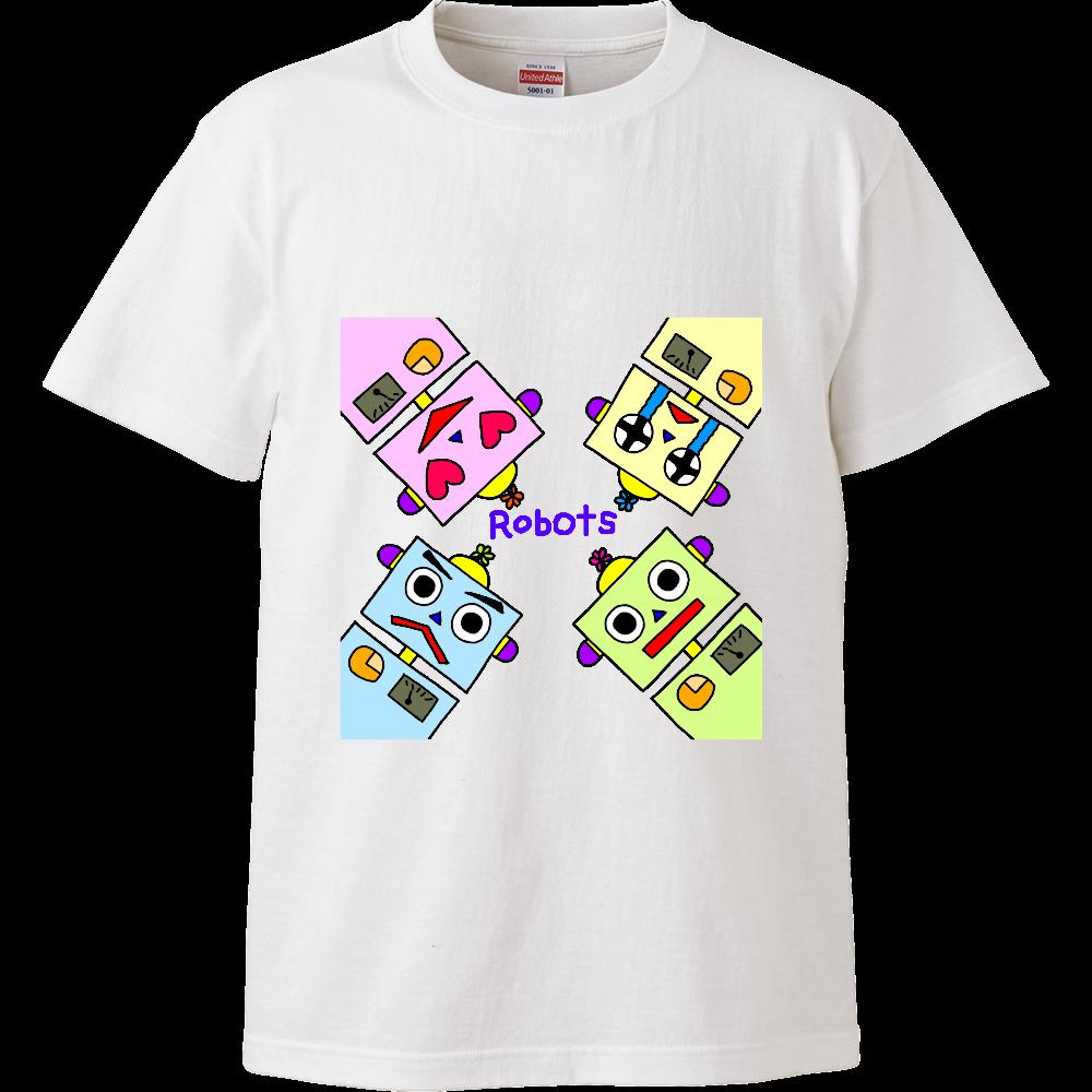 ロボット(ハイクオリティキッズTシャツ) ハイクオリティーキッズTシャツ
