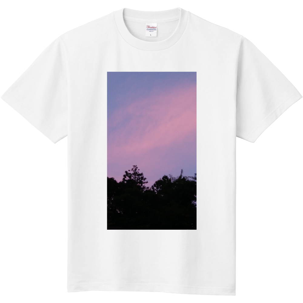 夏の夕方 ニシノソラ 定番Tシャツ