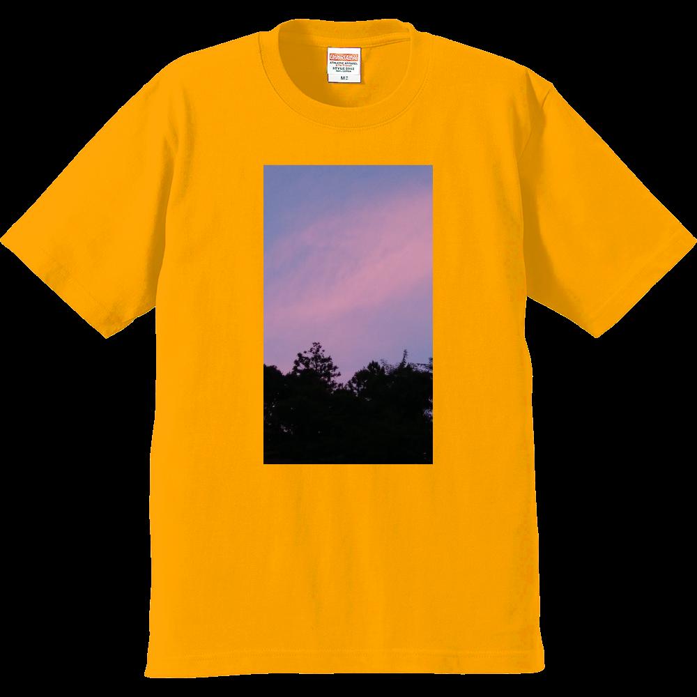 夏の夕方 ニシノソラ プレミアムTシャツ