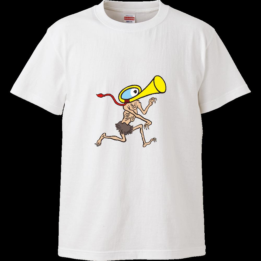 妖怪シリーズ、ラッパようかい ハイクオリティーTシャツ