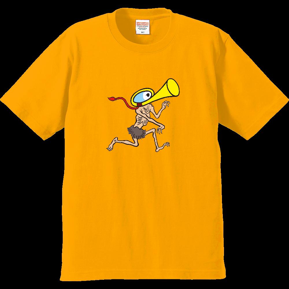 妖怪シリーズ、ラッパようかい プレミアムTシャツ