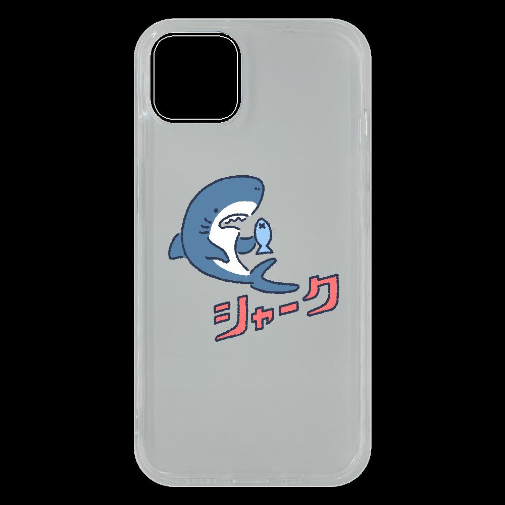 版ズレシャーク iPhone13 ソフトケース (TPU)