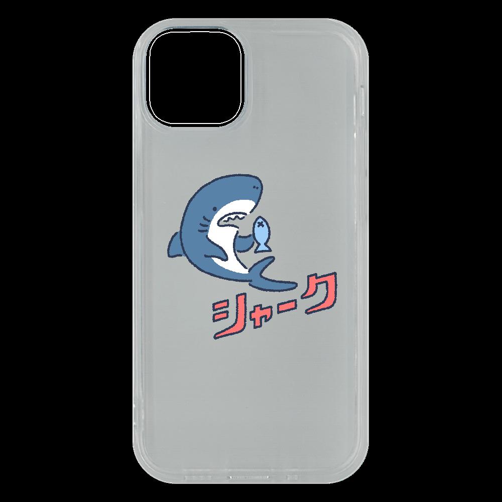 版ズレシャーク iPhone13 mini ソフトケース (TPU)