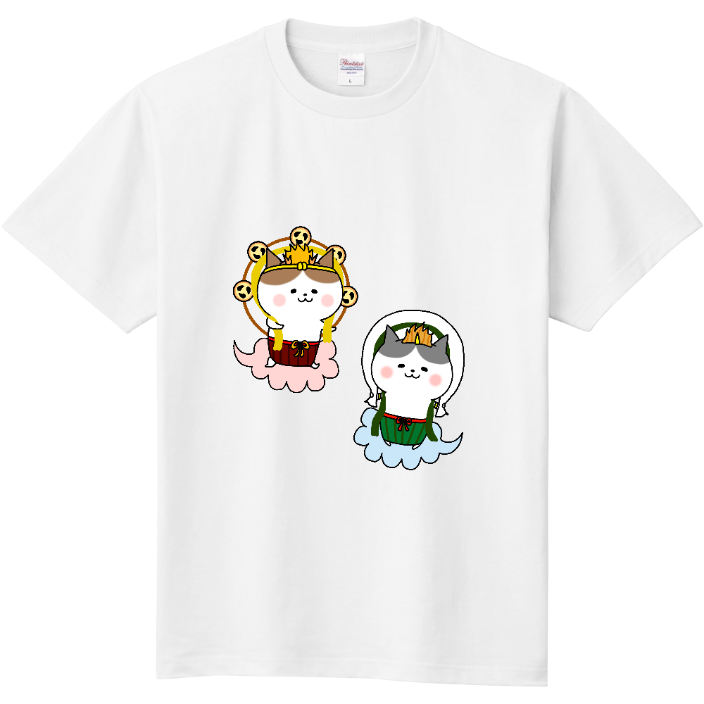 風猫雷猫 定番Tシャツ