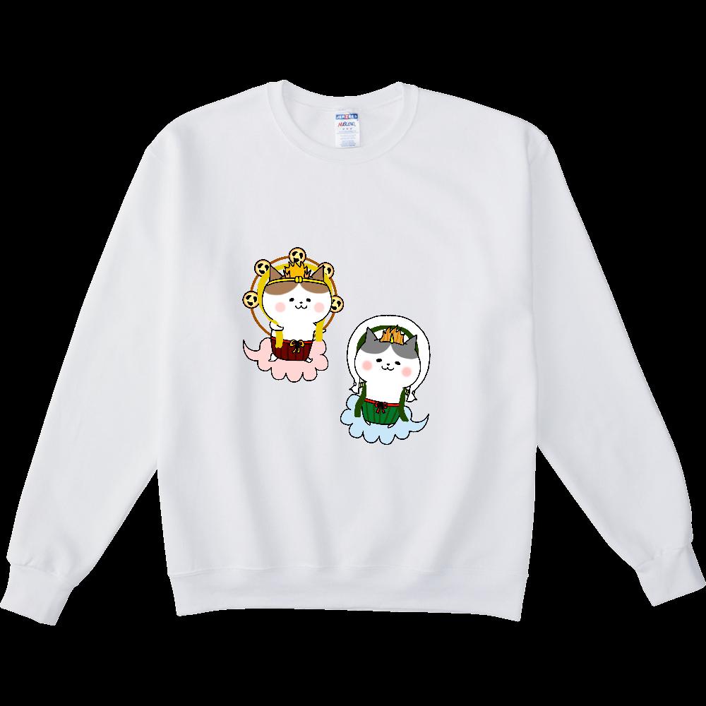 風猫雷猫 NUBLENDスウェットシャツ