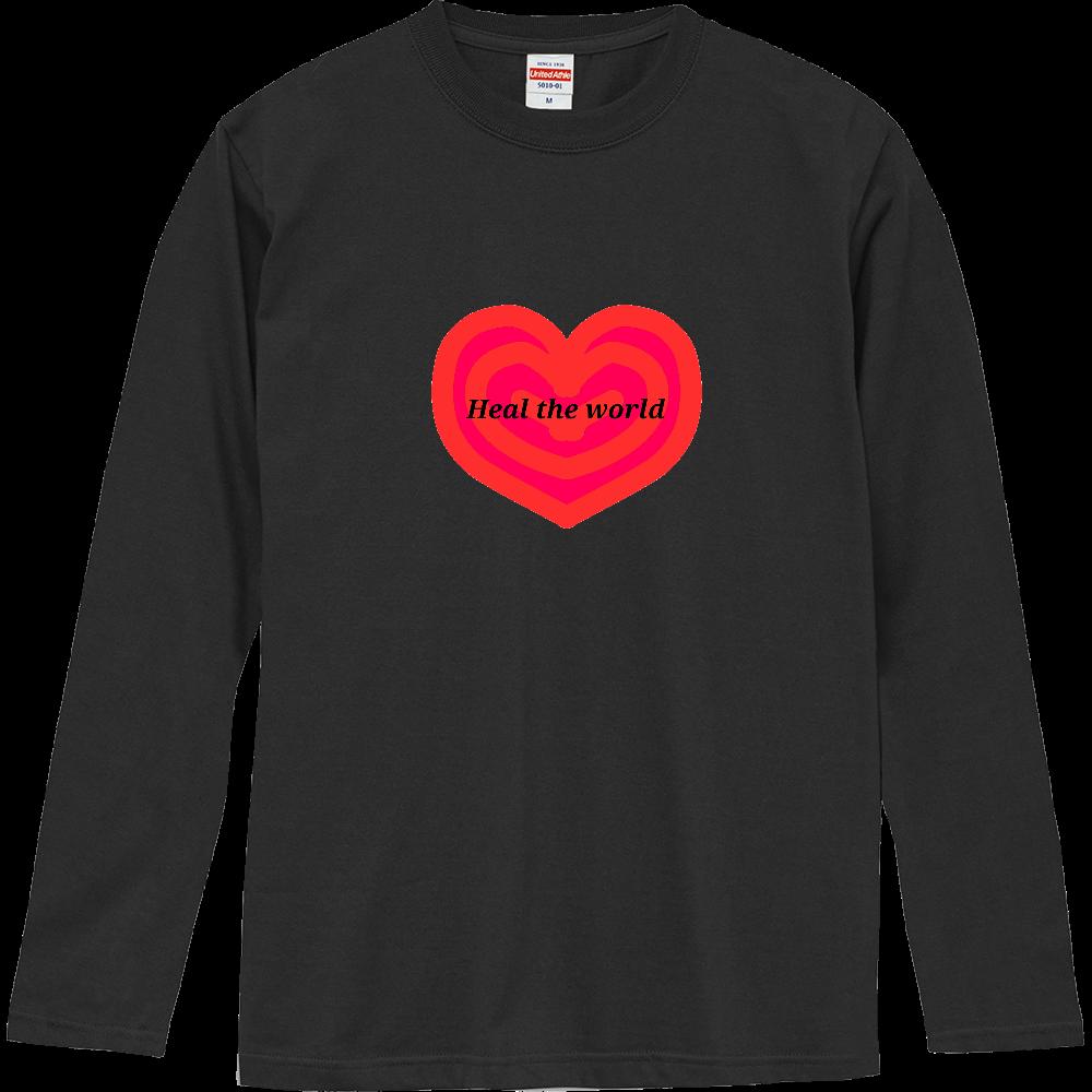 Heal the world~世界を癒そう~ ロングスリーブTシャツ
